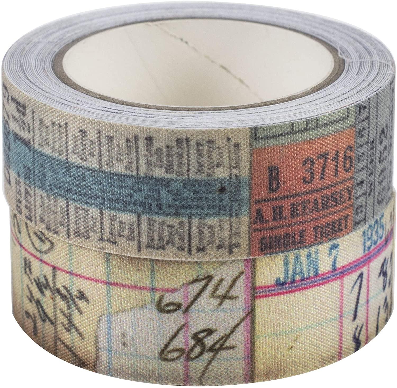 Fabric Tape Tim Holtz - Tecido