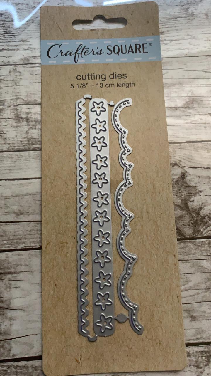 Faquinha Crafters Square - Kit com 3 - Estrelas, Escalope e Lisa