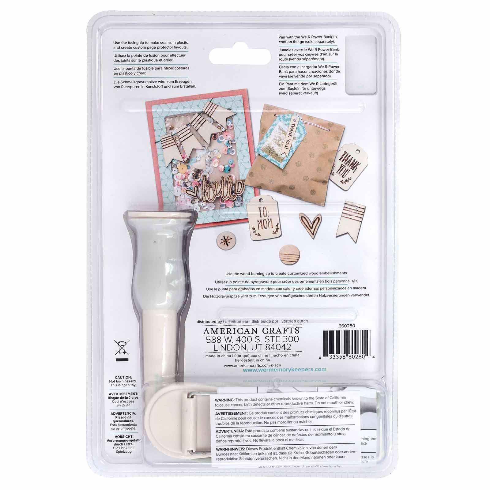 Heat Tool Kit USB We R Memory Keepers - Fuse