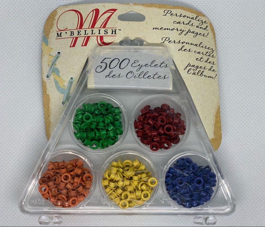 Ilhós M Bellish - 115 Unidades 5 Cores - Colorido