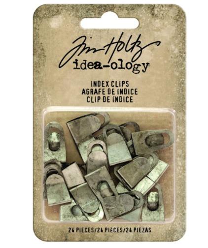 Index Clips- Tim Holtz- Idea Ology