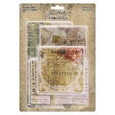 Journal Cards- Tim Holtz- Idea Ology-