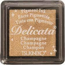 Mini Carimbeira Delicata - Champagne