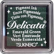 Mini Carimbeira Delicata - Emerald Green