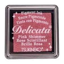 Mini Carimbeira Delicata - Pink Shimmer