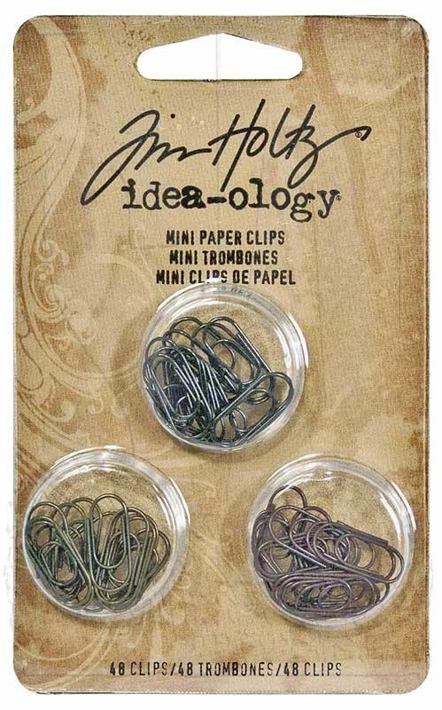Mini Clips -Idea Ology-Tim Holtz