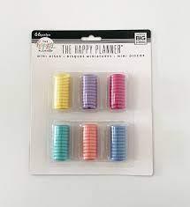 Mini Discos  Coloridos  - The Happy Planner - 66 unidades
