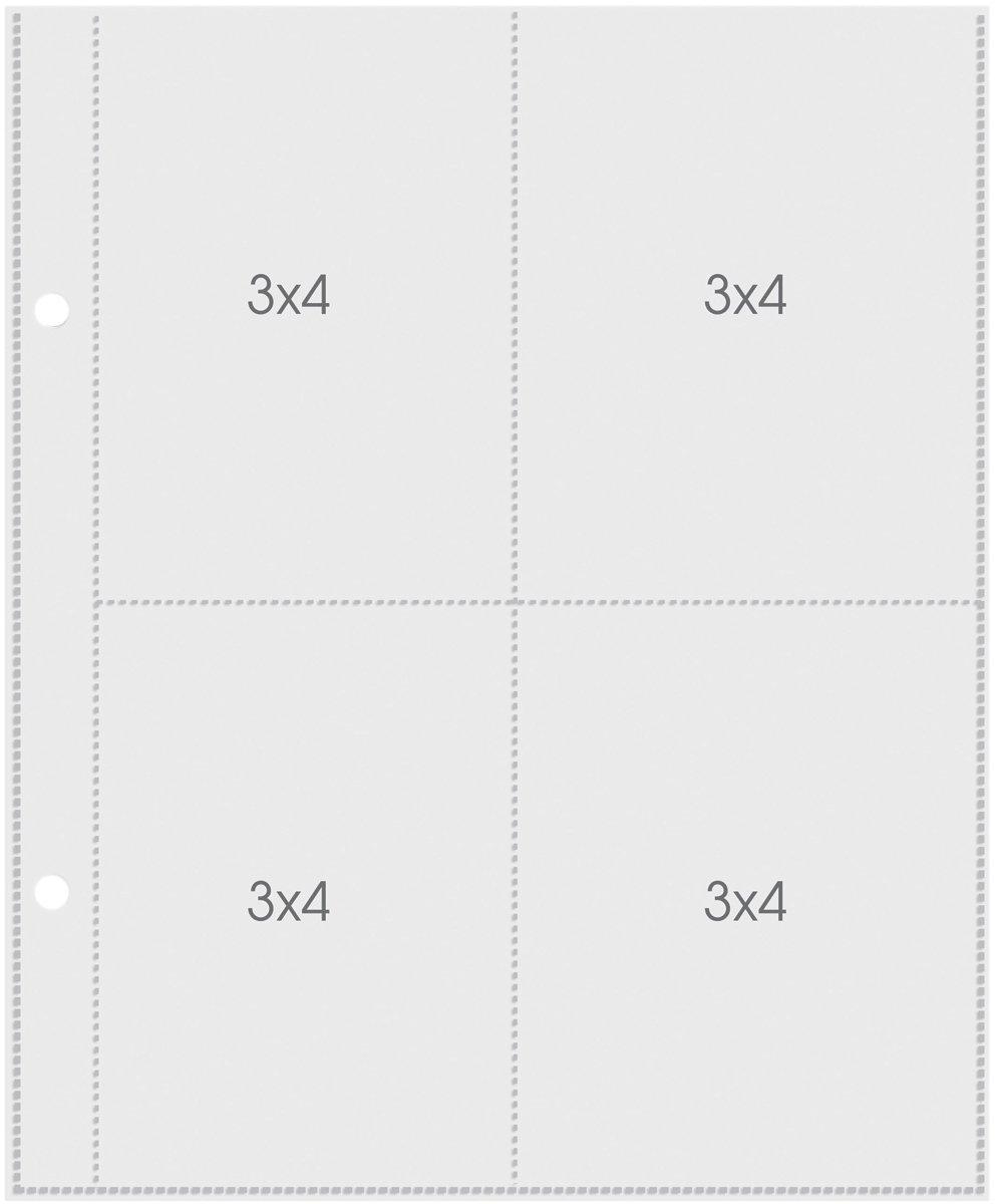Plástico para Álbum Snap 3x4 Simple Stories -10 Unidades