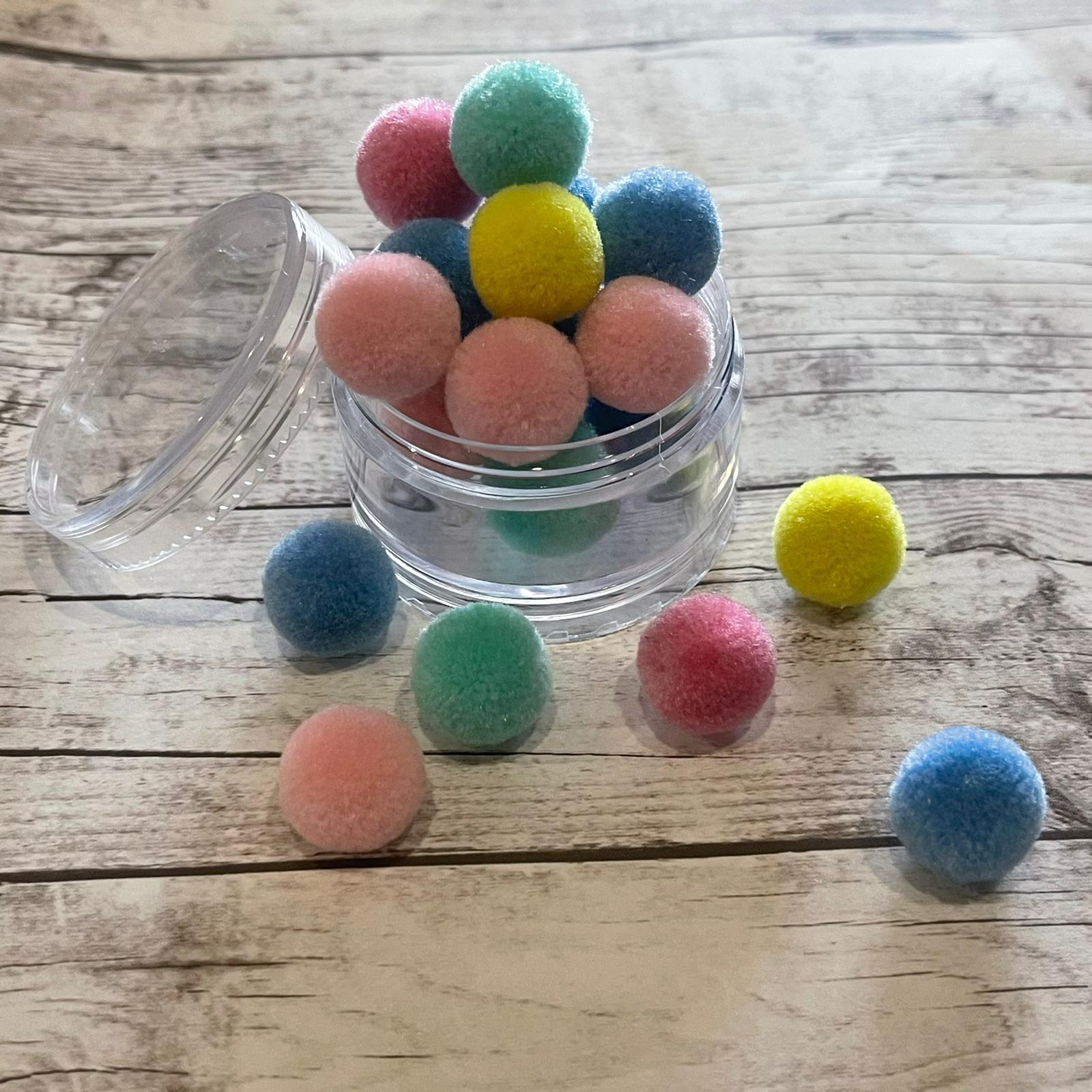 Pompom Colorido - 5 gramas