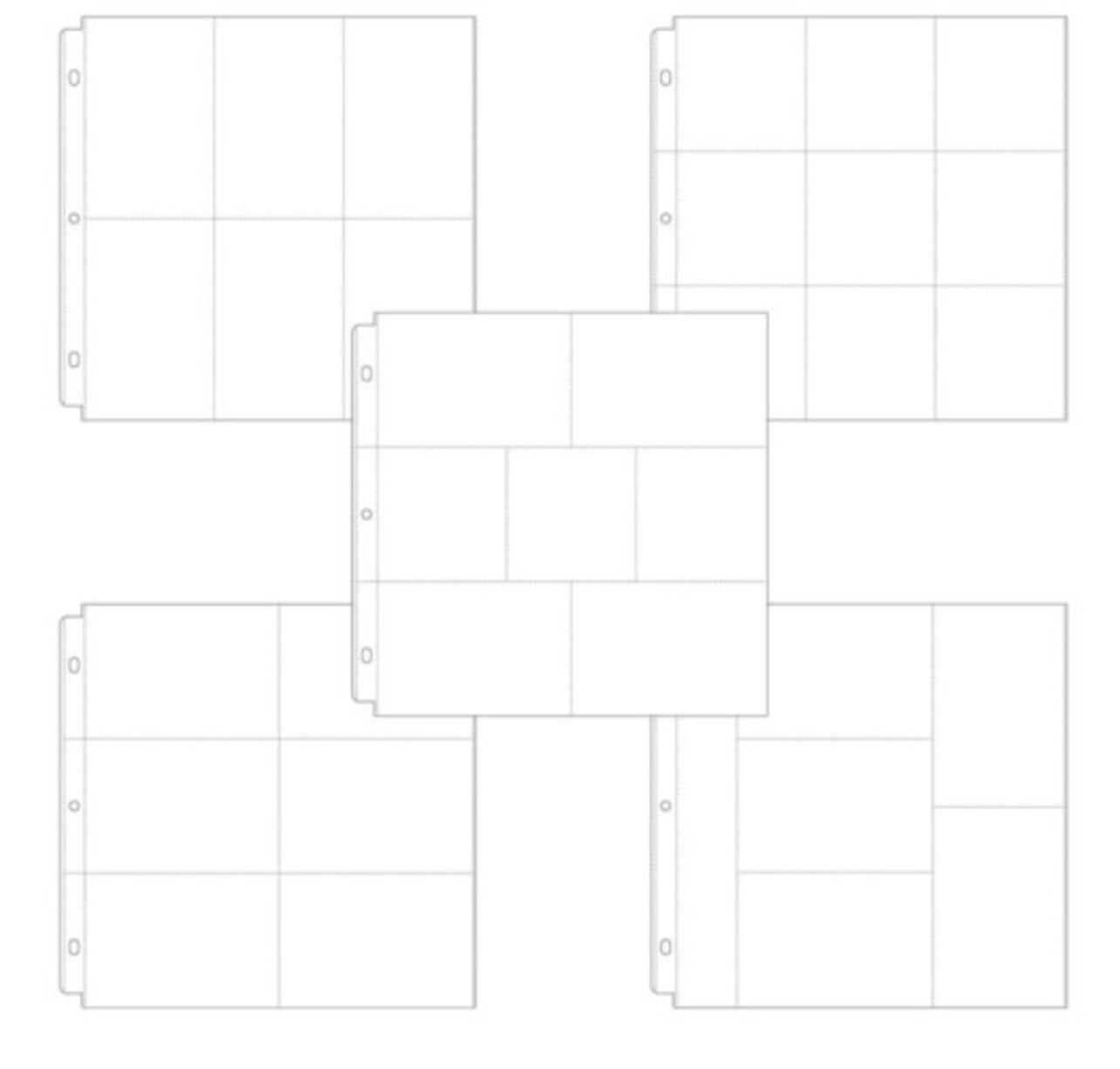 Protetor de Páginas Scrapbook.com 12x12 polegadas - Kit com 10 Embalagem Sortida - Project Life - Kit 1
