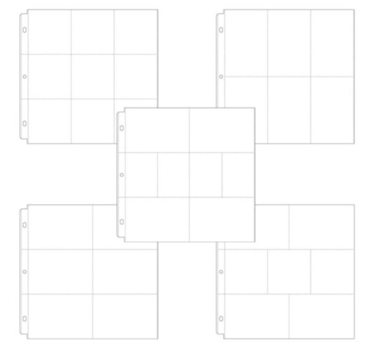 Protetor de Paginas Scrapbook.com 30x30 cm - 12x12 in - Kit com 10 Embalagem Sortida - Project Life - Kit 2