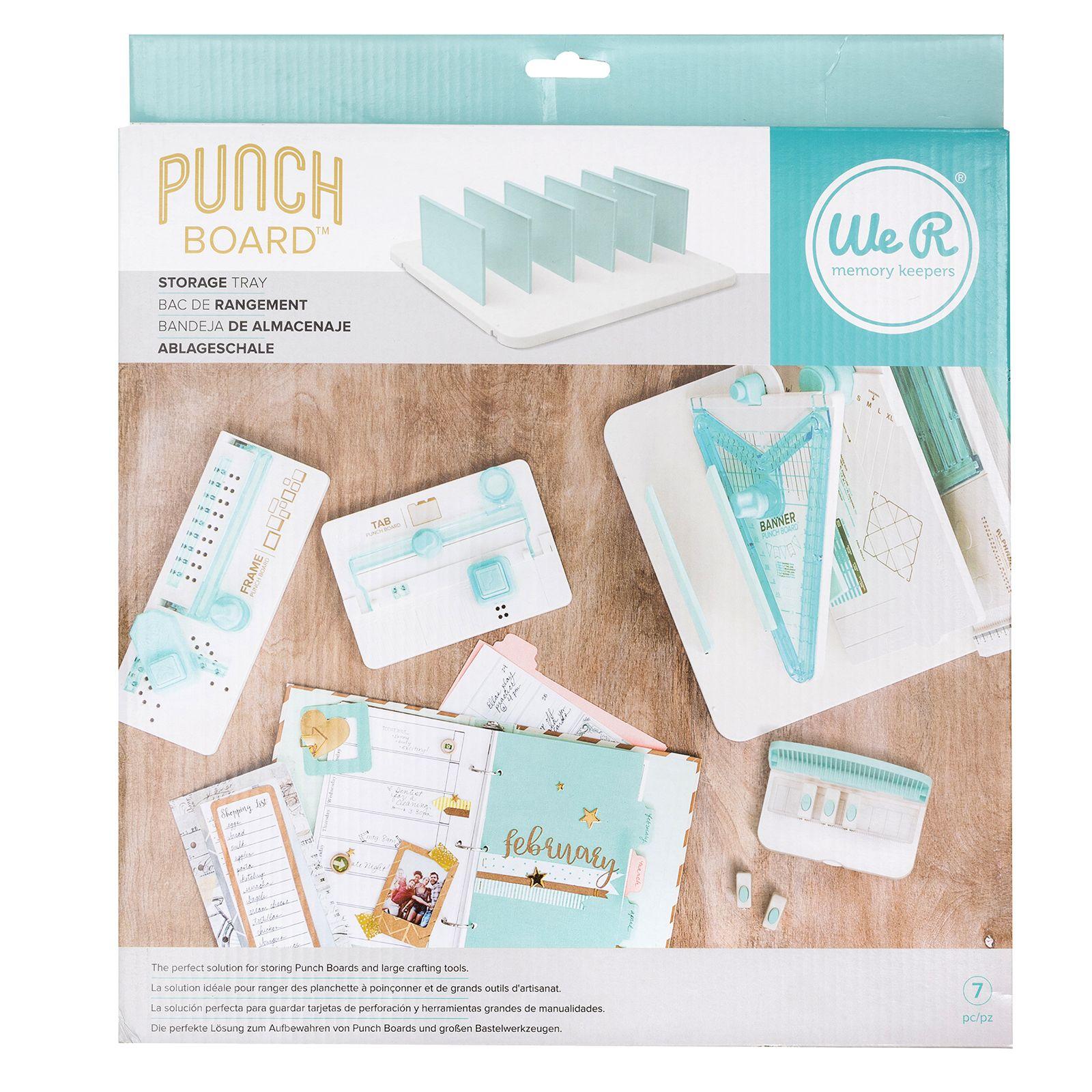 Punch Board Storage - Organizador de ferramentas - We R Memory Keepers
