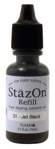 Refil Stazon Jet Black - Preto