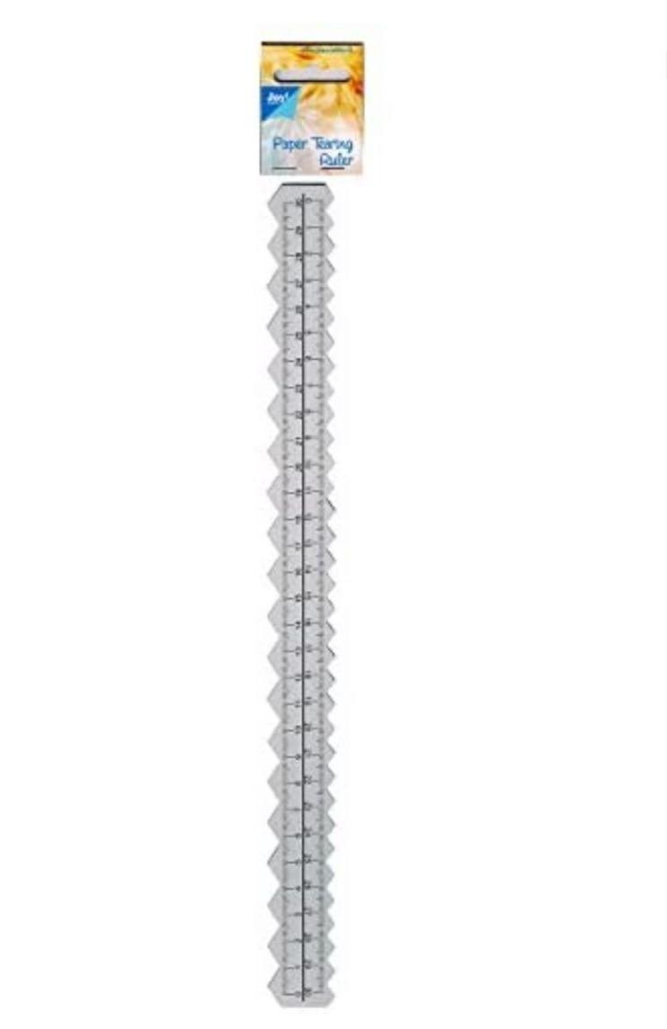 Régua de Corte Serrilhado 30 cm -Joycrafts