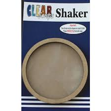 Shaker Madeira- Clear Scraps- Circulo