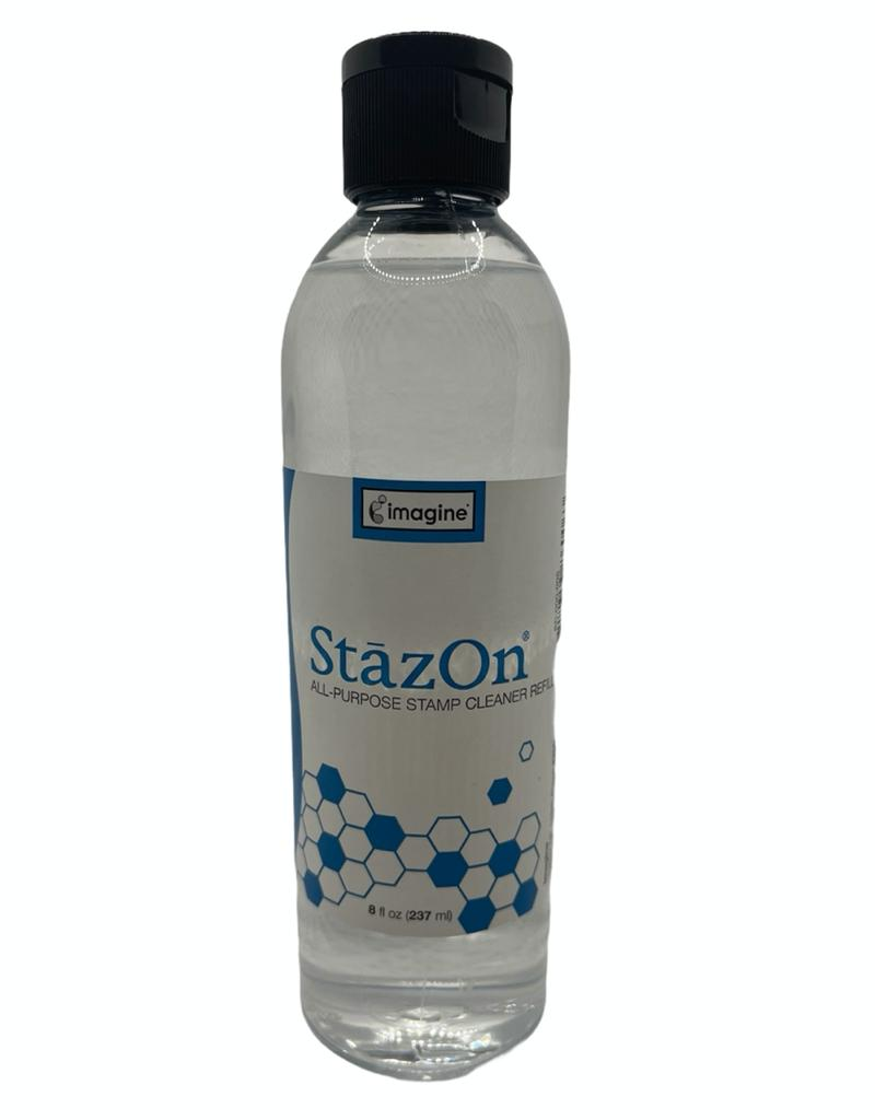 Stazon Stamp Cleaner 237 ml - Limpador de Carimbos Refil