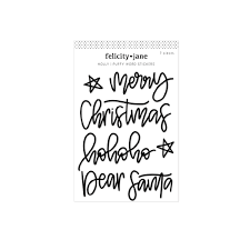Stickers- Felicity Jane- Holly