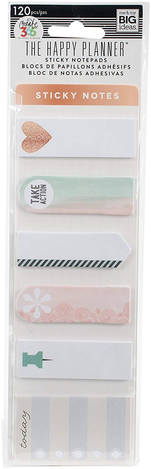 Sticky Notepads - The Happy Planner  120 unidades