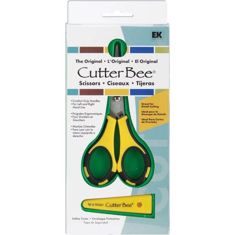 Tesoura Cutter Bee EK Tolls - Amarela e Preta
