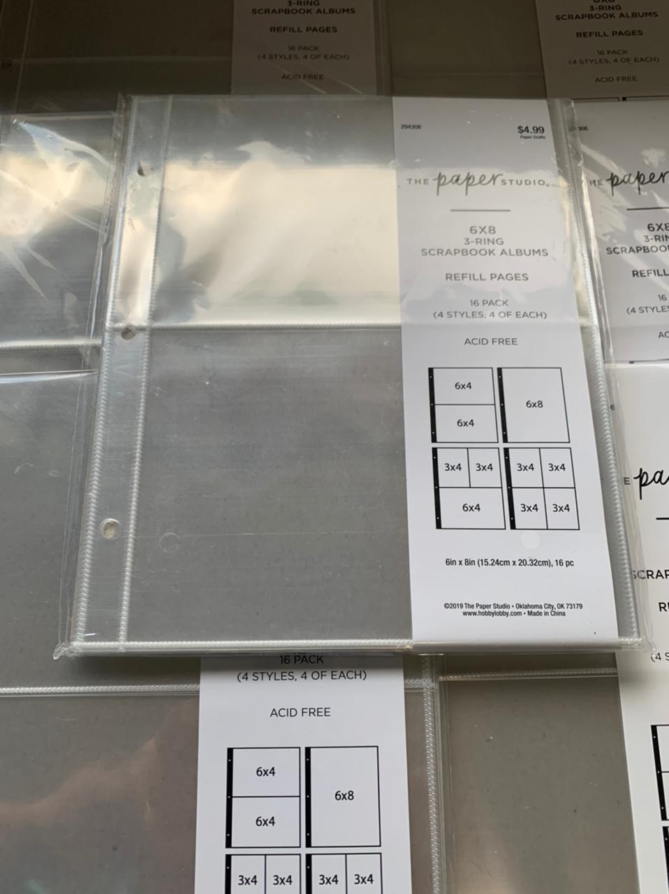The Paper Studio- Refil de Album