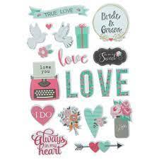 The Paper Studio-True Love- Stickers