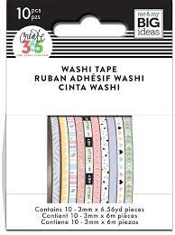 Washi Tape-Mini  Pastel - The Happy Planner 10 unidades