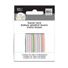 Washi Tape-Mini Tons Pastel- The Happy Planner 10 unidades
