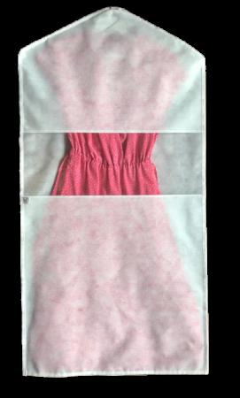 Capa protetora para vestidos e casacos longos - G