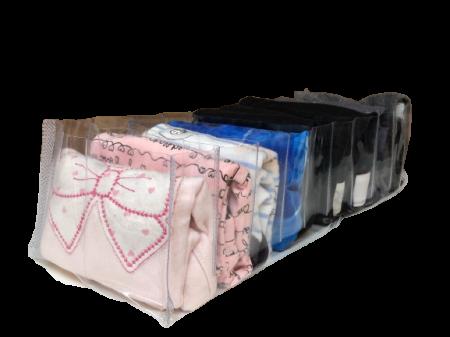 Colmeia organizadora para bebê e roupa de ginástica 14 cm CLEAN