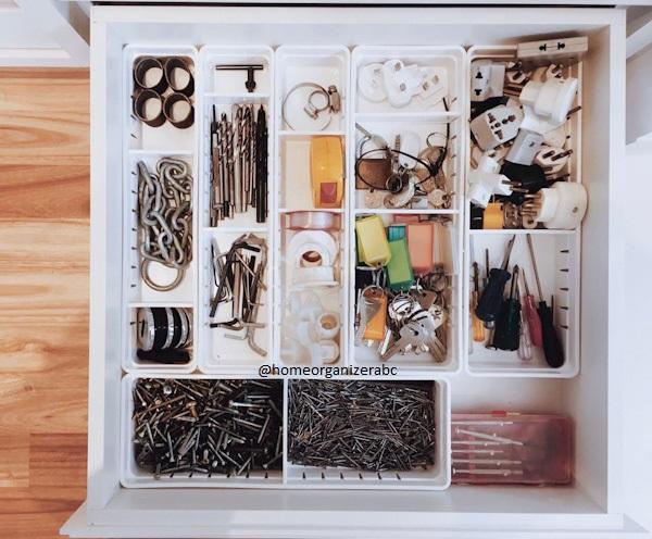 Organizador de gavetas com divisórias P