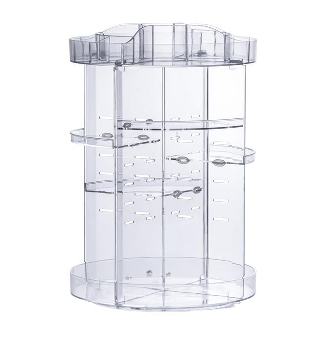 Organizador giratório para cosméticos