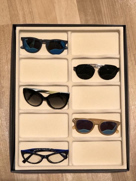 Organizador para óculos e relógios C/ 10 nichos
