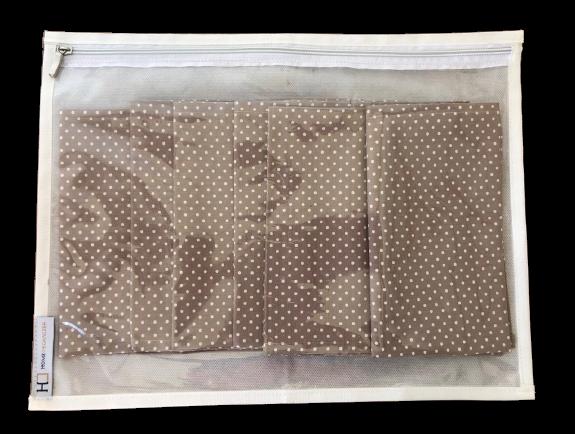 Organizador para roupa delicada, lã e guardanapos de tecido - PP