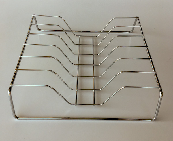 Organizador para tampas de panela cromado