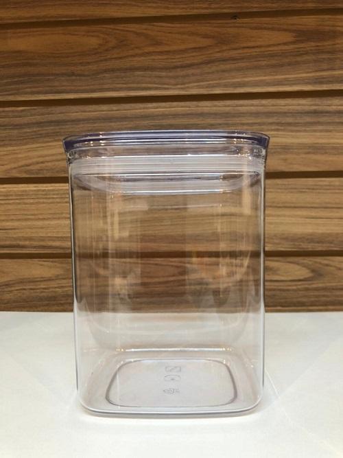 Pote hermético com tampa transparente 1,7l M