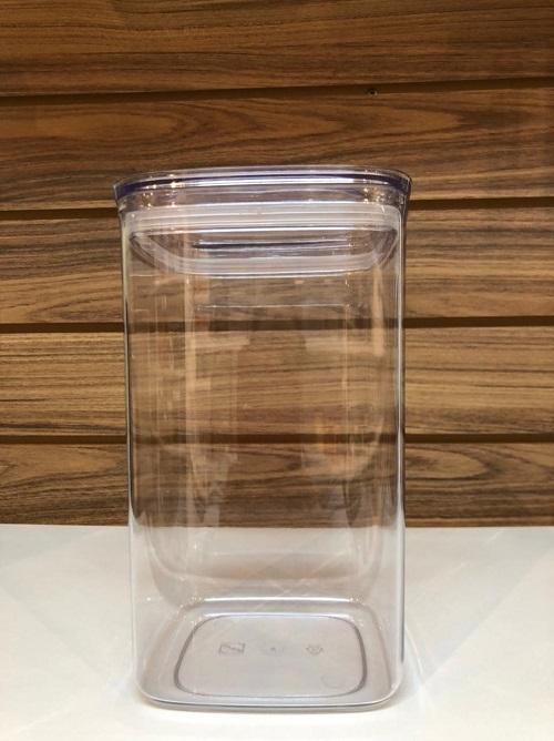 Pote hermético com tampa transparente 2,3l G
