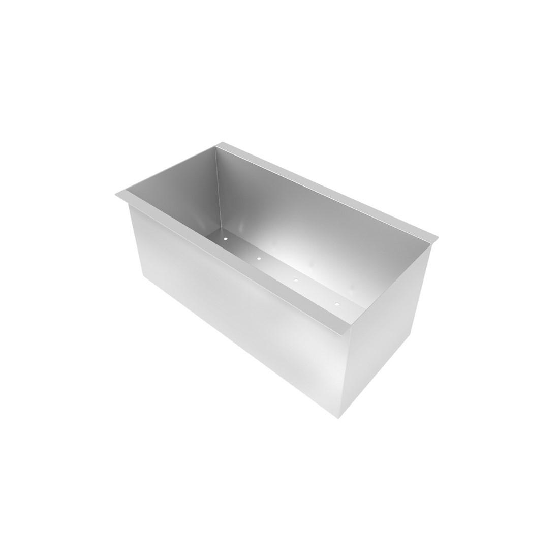 Canal Organizador Úmido 600 DeBacco Inox 20.03.10600
