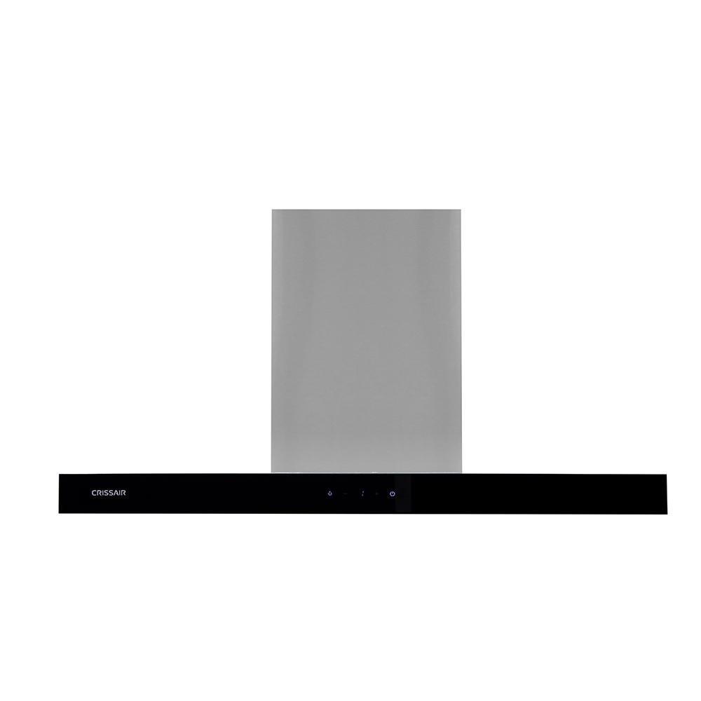 Coifa Crissair CRR 07.9 G4 Parede Inox sucção perimetral 90cm 220V