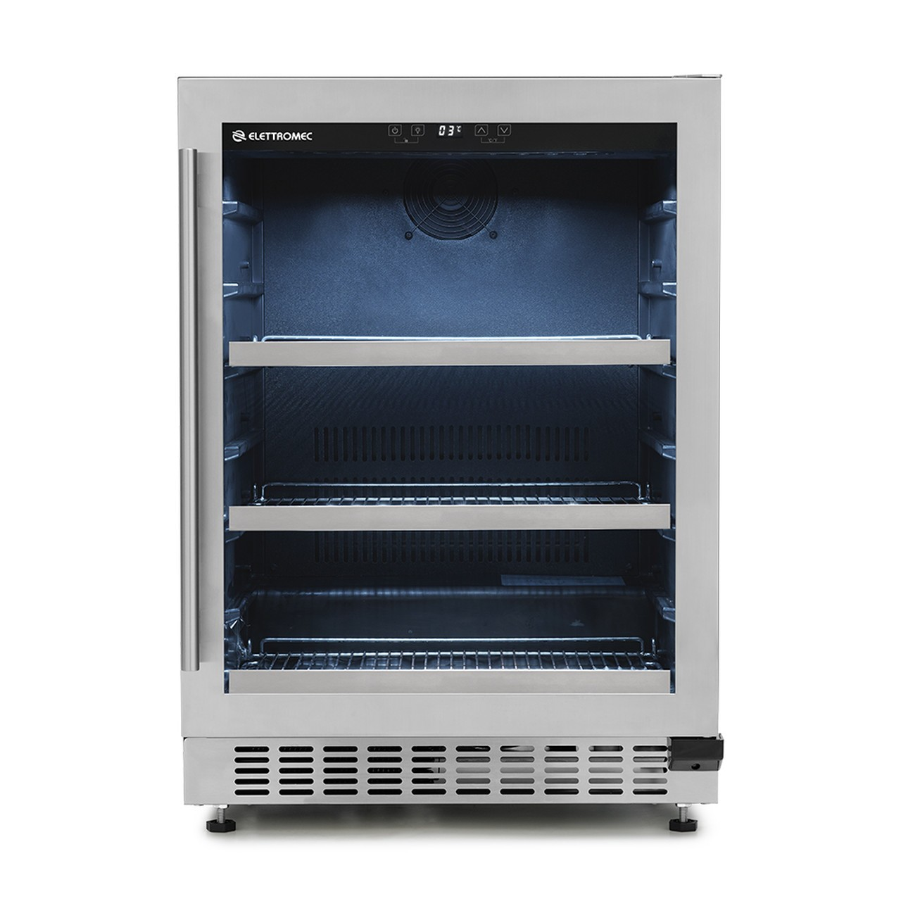 Frigobar Elettromec de Embutir 135 Litros Inox 127V
