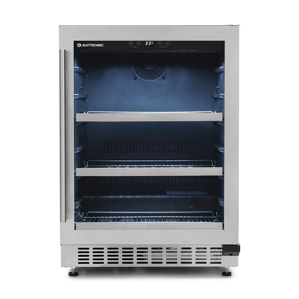 Frigobar Elettromec de Embutir 135 Litros Inox 220V