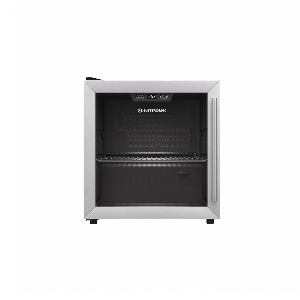 Frigobar Elettromec freestanding 40L com prateleira cromada Low-E 480 x 510 x 430MM 110V