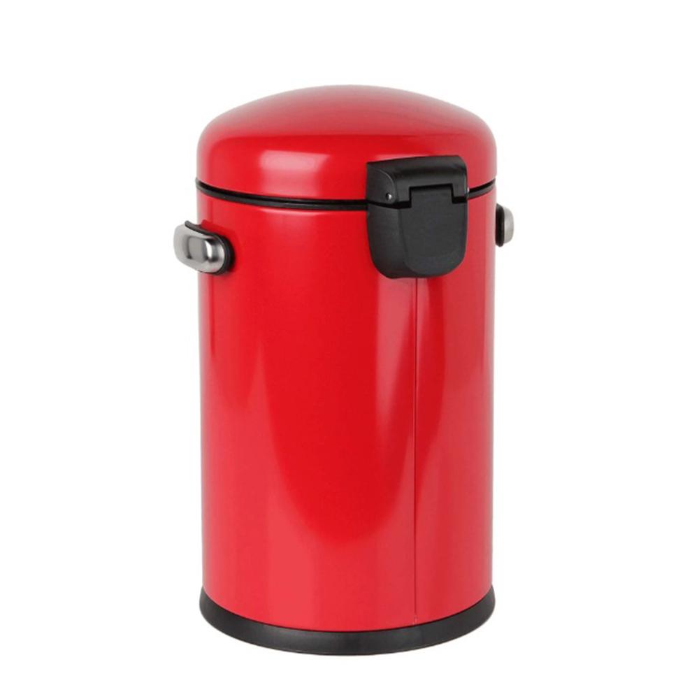 Lixeira Retro 4,5L Vermelha Simplehuman Sh105Vm