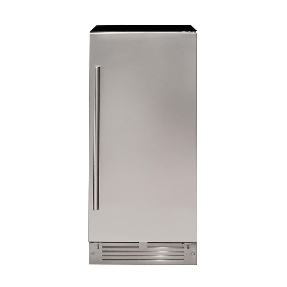 Máquina de gelo Frost Free de embutir aço inox 38cm 220V Cuisinart