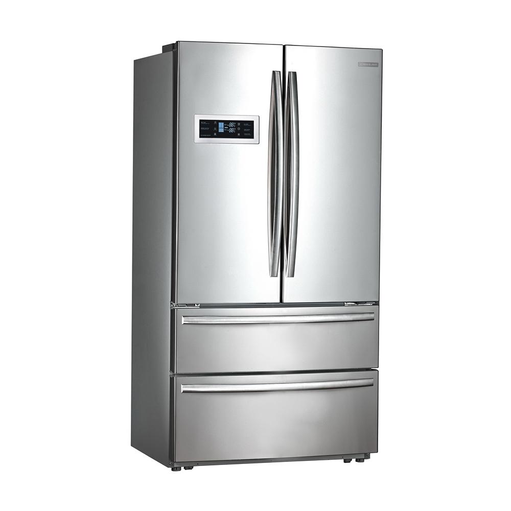 Refrigerador Crissair French Door RFD 01 590 Litros Inverter Inox 127V