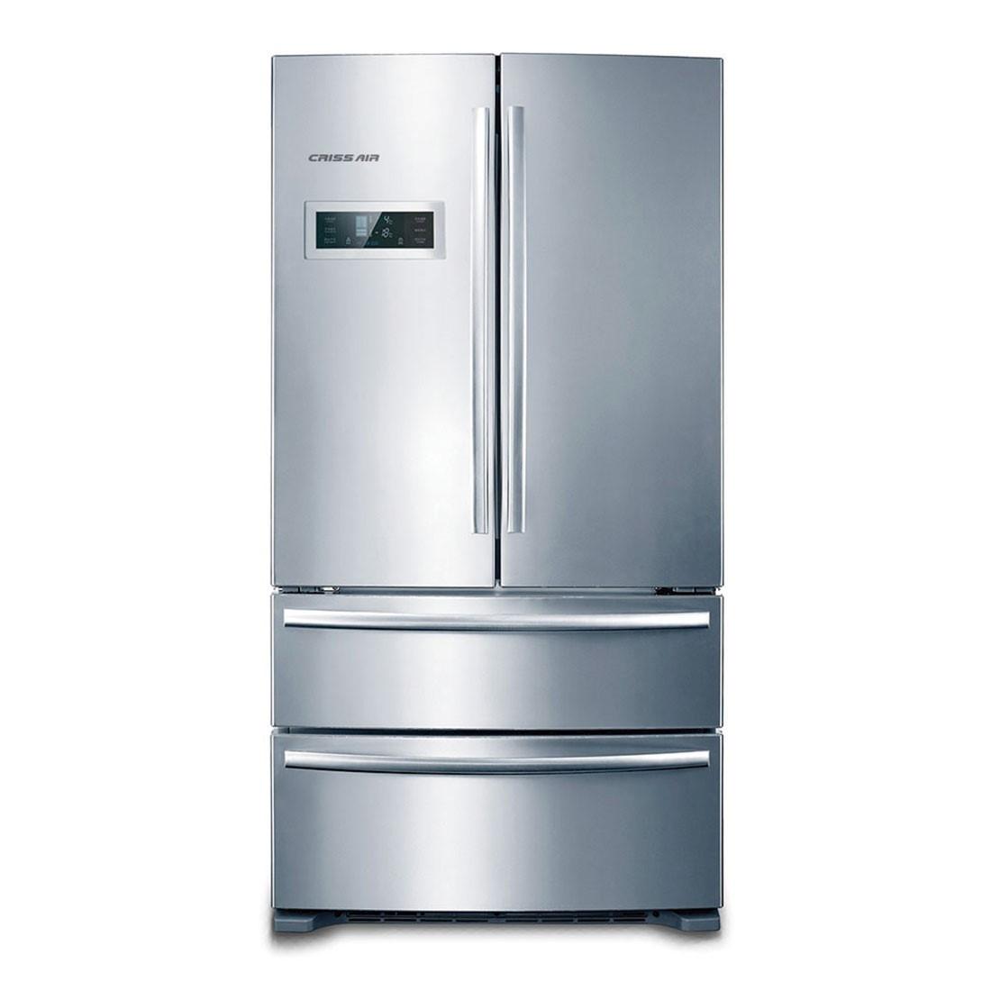Refrigerador Crissair French Door RFD 02 590 Litros Inverter Inox 220v