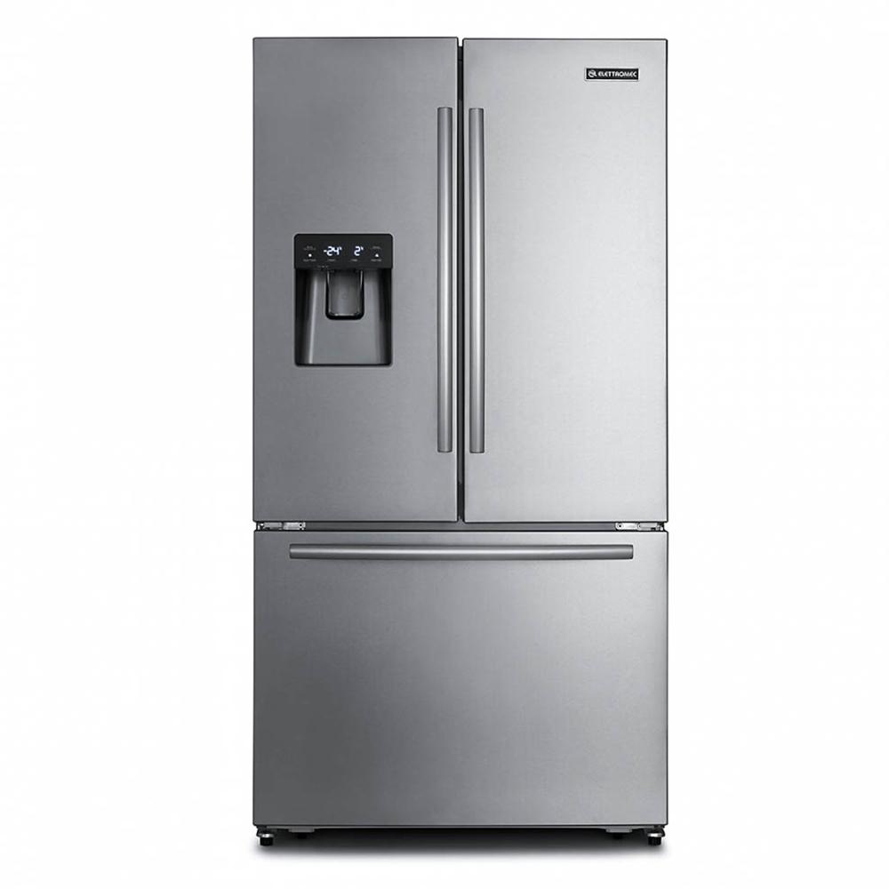 Refrigerador Elettromec French Door Inox 531L 220V