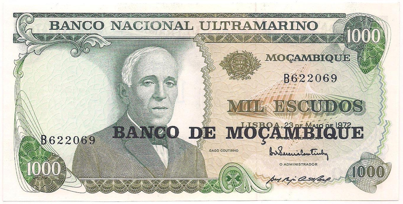 1000 Escudos -1972 FE