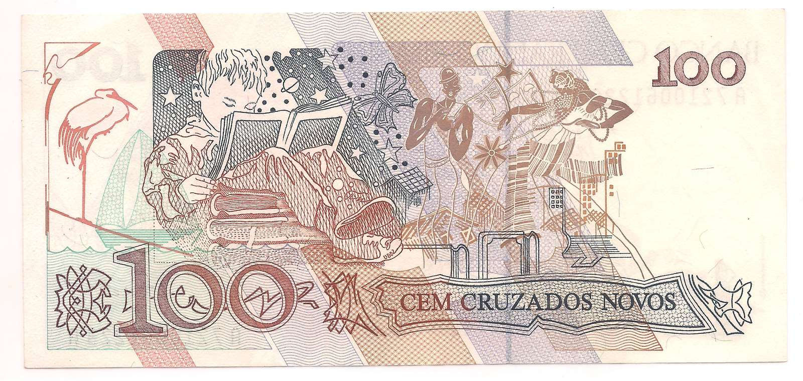 100 Cruzados Novos 1989 (Cecília Meireles) - Escolha nas variações