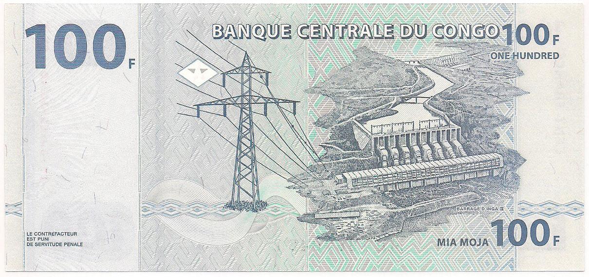 Congo - 100 Francs FE 2007
