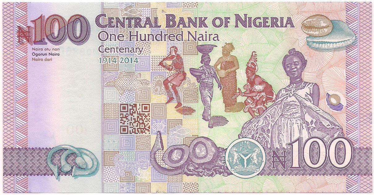 Nigéria - 100 Naira 2014